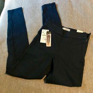 Zara Navy Skinny Pant